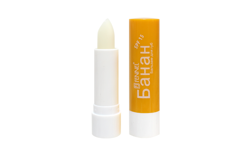 Fennel Lip Balm #Banana (FL-1006)